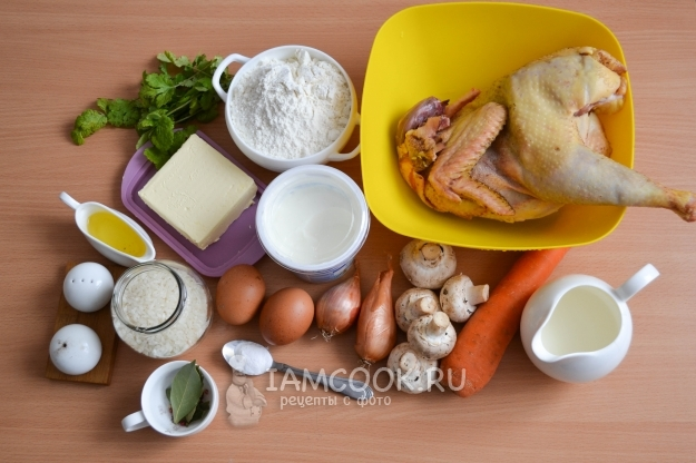 Ingredienti per la classica tortilla