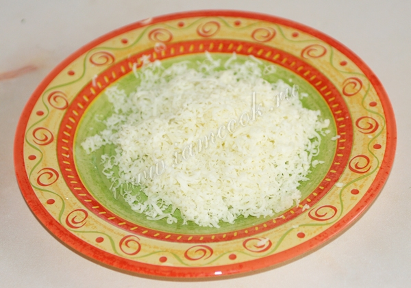 Cheese, grated