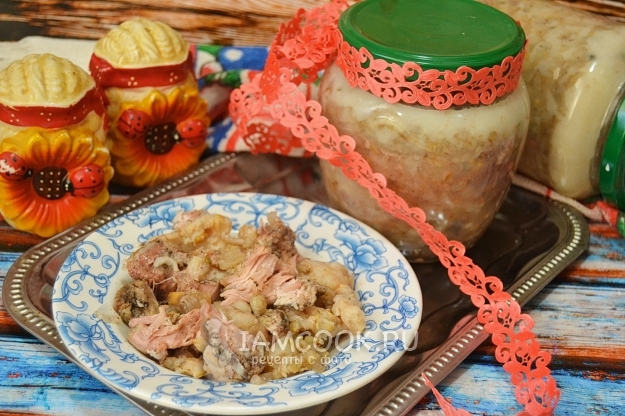 Recipe for pork stew with pearl barley