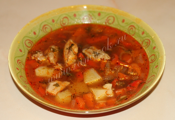 dietary soup from turkey
